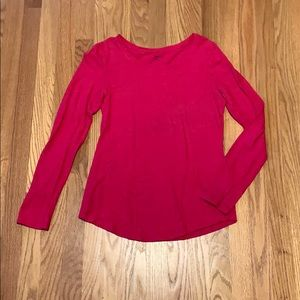 Hot Pink Long Sleeve
